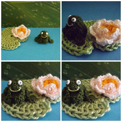 serial crocheteuses n°182, crochet, grenouille